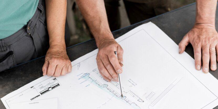 majaehituse plaan