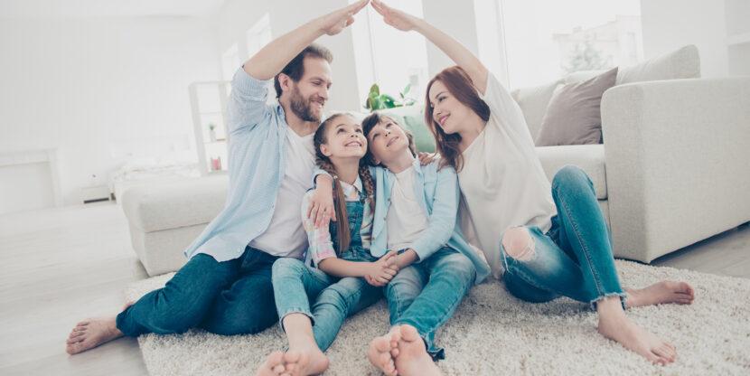 pere kodus koos aega veetmas