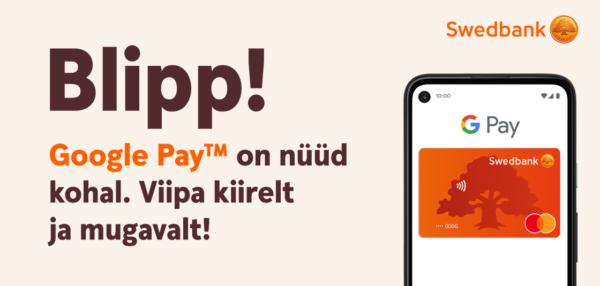 Swedbank Google Pay