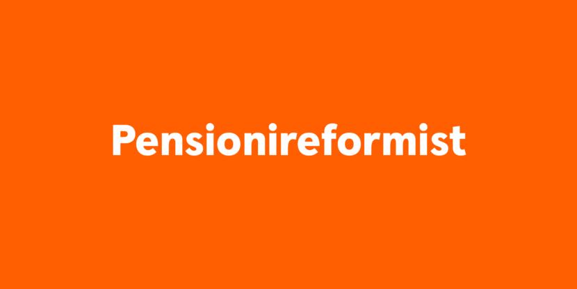 pensionireformist
